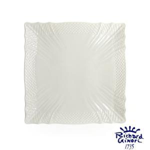 ベッキオホワイト スクエアプレート22cm  リチャードジノリ 角皿 陶磁器製 |therichcojp