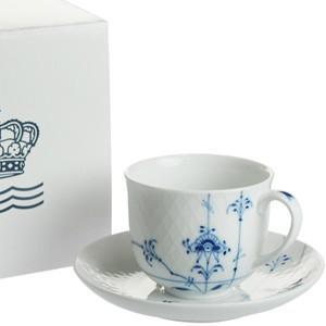ロイヤルコペンハーゲン ブルーパルメッテ  コーヒーカップ&ソーサー240ml|therichcojp