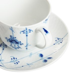 ロイヤルコペンハーゲン ブルーパルメッテ  コーヒーカップ&ソーサー240ml|therichcojp|07