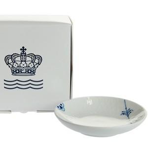ロイヤルコペンハーゲン ブルーパルメッテ  ミニプレート10cm  小皿 薬味 醤油皿 2-500-610|therichcojp