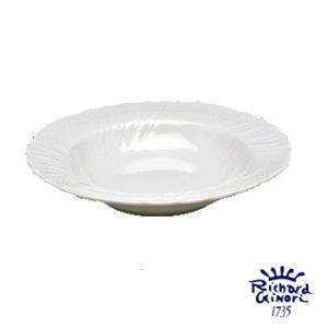 ベッキオホワイト スーププレート パスタ皿 リチャードジノリ 20.5cm カレー深皿 陶磁器製|therichcojp