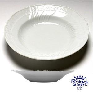 ベッキオホワイト スーププレート パスタ皿 24cm  リチャードジノリ カレー深皿  陶磁器製|therichcojp