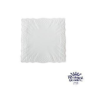 ベッキオホワイト スクエアプレート10cm  小皿 リチャードジノリ 角皿 陶磁器製 |therichcojp