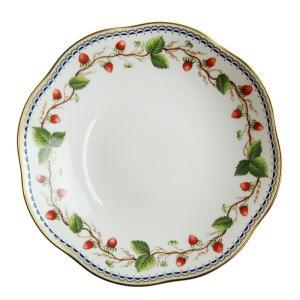 パスタボウル23.5cm  深皿 スープ カレー皿 ウェッジウッド  ワイルドストロベリーアーカイブ |therichcojp