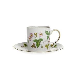 ウェッジウッド ワイルドストロベリー コーヒーカップ&ソーサー(キャン)