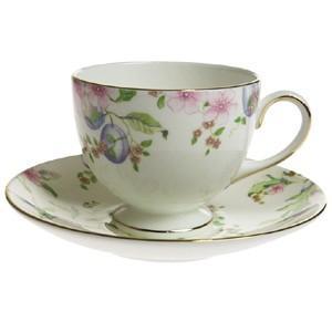 ティーコーヒー兼用カップ&ソーサー リー 200ml  ウェッジウッド スウィート プラム therichcojp