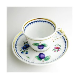 イタリアンフルーツ コーヒーカップ&ソーサー120ml リチャードジノリ 陶磁器製 therichcojp