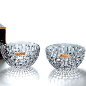 ナハトマン Nachtmann ボサノバ 102253 ボウル 15cm ペア 2個入  クリスタルガラス製|therichcojp