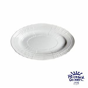 ベッキオホワイト ピクルスオーバルディッシュ  リチャードジノリ  ピクルスオーバル皿 23cm 1...
