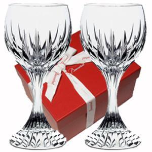 バカラ ワイングラスペアセット マッセナ 容量200ml  高さ16.2cm  1344103  2本1組  バカラギフト箱入 クリスタルガラス製|therichcojp