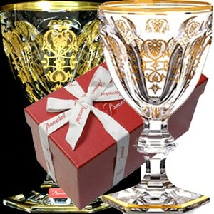 バカラ ワイングラス エンパイア 金彩24金 ゴールド  容量170ml  高さ13.5cm  1601103  バカラギフト箱入 クリスタルガラス製 therichcojp