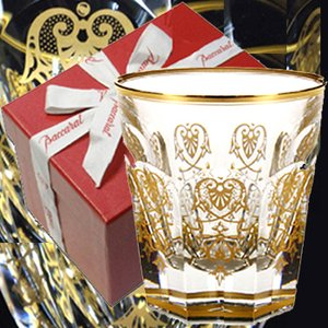 バカラ  ロックグラス エンパイア タンブラー1-601-238 金彩24金 ゴールド クリスタルガラス製|therichcojp