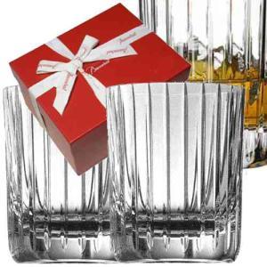 バカラ ロックグラスペアセット ハーモニー タンブラー2個 1845261  クリスタルガラス製  バカラ赤箱入|therichcojp
