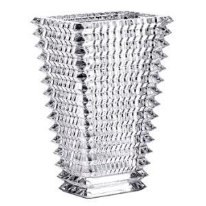 バカラ  花瓶 花器 クリスタルガラス製 Baccarat  アイ ベース EYE VASE スクウエアL  フラワーベース 高さ30cm 2612990 therichcojp