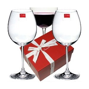 バカラ ワイングラスペアセット デギュスタシオン グランボルドー2客組 容量750ml 高さ24.5cm  2610926  バカラペアギフト箱入 クリスタルガラス製|therichcojp