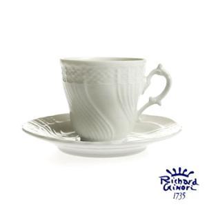 ベッキオホワイト コーヒーカップ&ソーサー200ml  リチャードジノリ 陶磁器製|therichcojp