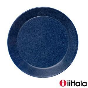イッタラ  ティーマ  プレート21cm ケーキ皿 デザート皿 オードブル ドッテドブルー ドット模...