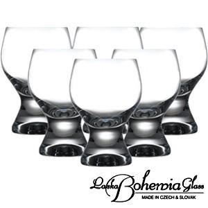 ボヘミア ワイングラス6個セット Gina ジーナ  赤ワイン・ゴブレット用 6客組 ボヘミアカリクリスタルガラス製|therichcojp