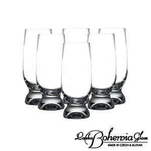 ビールグラス  ビアグラス6本セット  ジーナ タンブラー6個入 容量260ml  40159-260  ボヘミアクリスタルガラス製|therichcojp