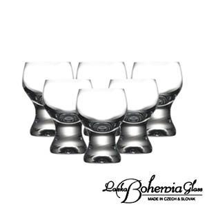 日本酒冷酒グラス6客セット  ボヘミアクリスタルガラス製  酒器・酒杯6個組  Gina ジーナ|therichcojp