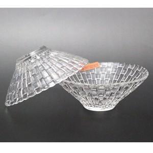 ナハトマン Nachtmann ボサノバ 78536 ボウル 15cm ペア(2枚入)  クリスタルガラス製|therichcojp