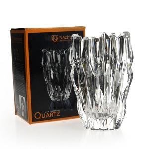 ガラス花瓶 花器 オーバル フラワーベース16cm 88333  ナハトマン Nachtmann クオーツ Quartz|therichcojp