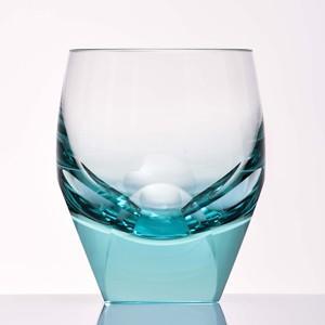 タンブラーグラス  ロックグラス  カリクリスタルガラス製  BAR オールド ベリル 容量170ml  BAR-020BE  モーゼル|therichcojp
