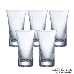 ウイスキー水割りハイボールグラス5客セット  ボヘミアクリスタルガラス製  ミニタンブラー5本組  ボヘミアンドリーム|therichcojp