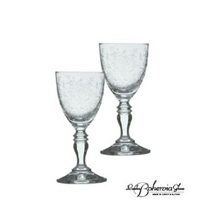 日本酒冷酒グラスペアセット  ボヘミアクリスタルガラス製  酒器・酒杯2客組  ボヘミアンドリーム|therichcojp