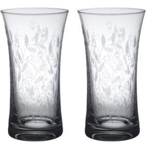 ハイボール ビアタンブラーペア ビールグラス2本セット  高さ14cm 340ml ボヘミアカリガラス製   ボヘミアンドリーム|therichcojp