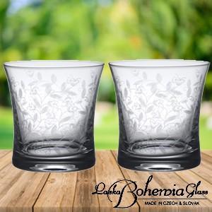 ウイスキー水割りロックグラス New ペアセット  ボヘミアカリガラス製  オールドファッション2個組  ボヘミアンドリーム|therichcojp