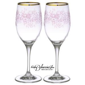 ボヘミア ワイングラス プロムナード ペアセット ボヘミアギフト箱2本入|therichcojp