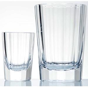 タンブラーグラス  ロックグラス  カリクリスタルガラス製 カレル四世 ショット&オールドペア モーゼル