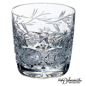 ウイスキー水割りロックグラス  ボヘミアクリスタルガラス  オールドファッション トラディショナル ジェリーズ・ガーデン|therichcojp