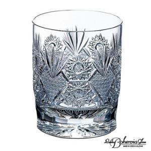 ウイスキー水割りロックグラス ボヘミアガラス  オールドファッション トラディショナル グロリア|therichcojp