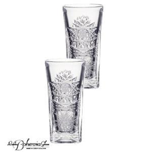 日本酒冷酒グラスペアセット  ボヘミアクリスタルガラス製  酒器・酒杯2客組  500PK ピーケー|therichcojp
