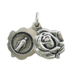 薔薇を象ったスライド式の不思議のメダイです。  ☆不思議のメダイ☆ 1830年11月27日、フランス...