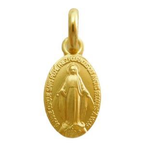 19世紀から続くフランスの老舗聖品メーカーであるマルティノー社の9Kゴールド製不思議のメダイです。 ...
