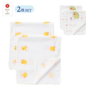 日本製 入浴ガーゼ お買い得 選べる2種類 2枚入り 新生児 赤ちゃん 綿100% 沐浴 お風呂に 17-65072|think-b