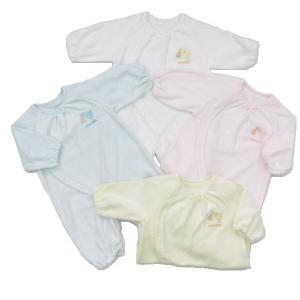 日本製ベビー服 ツーウェイオール 無撚糸 敏感肌 綿100% 2530111|think-b