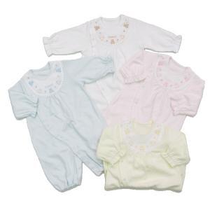 日本製ベビー服 ツーウェイオール 敏感肌 スーピマスムース 2530121|think-b