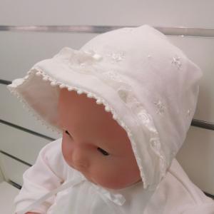 日本製ベビー服 ベビーセレモニーフード スムースローズ刺繍 2550104 think-b
