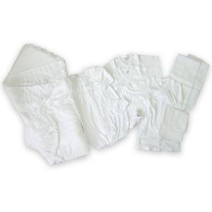 日本製ベビー服 出産祝いギフト ベビーセレモニー14点セット 新生児 オールシーズン 4028015 think-b