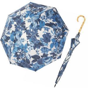 レディース 晴雨兼用傘 長傘 ブルーローズ シンクビー カサノヴァ 公式 母の日 ギフト 完全遮光 ...