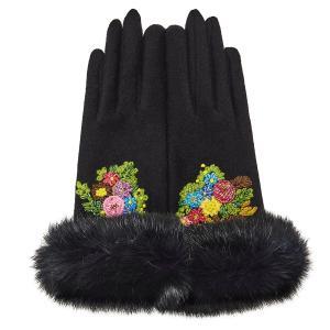 レディース 手袋 ブラック シンクビー デコラ 公式