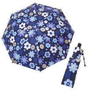 レディース 晴雨兼用傘 折りたたみ傘 マーガレットピースブルー シンクビー カサノヴァ 公式 母の日...