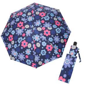 レディース 晴雨兼用傘 折りたたみ傘 マーガレットピースブルーピンク シンクビー カサノヴァ 公式 ...