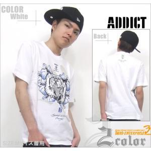 ADDICT アディクト 半袖 tシャツカラー:2カラーST...