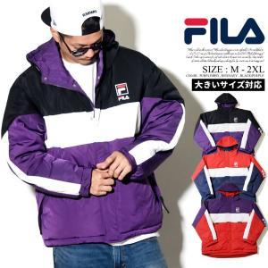 FILA フィラ ジャケット メンズ マウンテンパーカー 中綿ダウンジャケット ナイロン メンズ b...