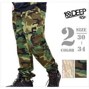 10DEEP テンディープ ジョガーパンツ ロング メンズ ...